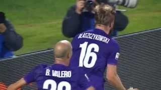 Il gol di blaszczykowski - fiorentina - bologna 2 - 0 - serie a tim 2015/16