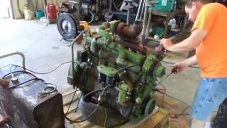 John Deere 6414 Turbo 6 cyl Diesel Engine