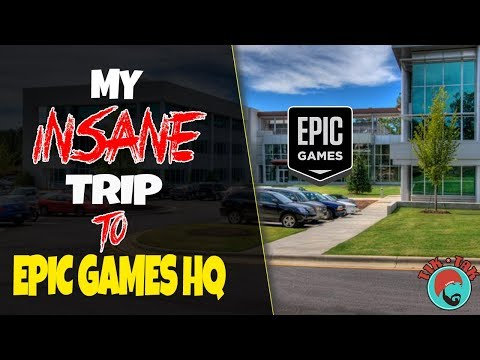 FORTNITE [STW] - MY EPIC GAMES HQ EXPIERENCE!
