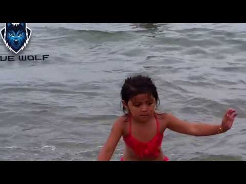 Shark attacking a kid - sister