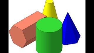 Видеоуроки Компас 3d. 15  Группа геометрических тел