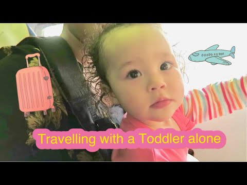 TRAVELLING WITH A TODDLER ALONE TO PHILIPPINES!