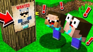 MINECRAFT'S MOST WANTED PLAYER!