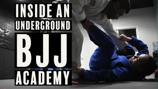 BJJ Report: Behind The Scenes of an UNDERGROUND BJJ Academy