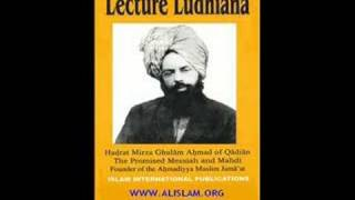 LECTURE LUDHIANA BY HADHRAT MIRZA GHULAM AHMAD OF QADIAN (ENGLISH AUDIO) PART 1/13
