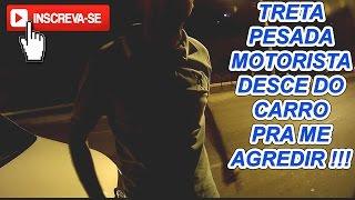 treta pesada briga de transito entre motoqueiro e motorista em pocos de caldas video de moto cg 125