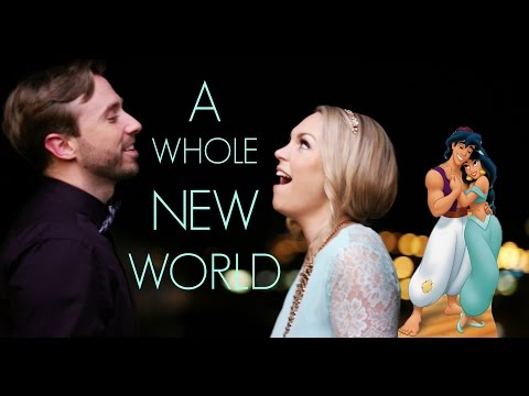 Thumbnail: A Whole New World - Evynne Hollens feat. Peter Hollens