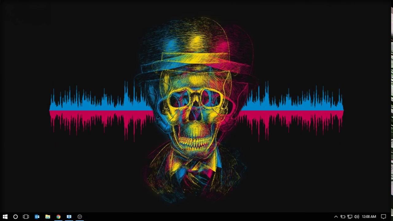 simplistic audio visualizer