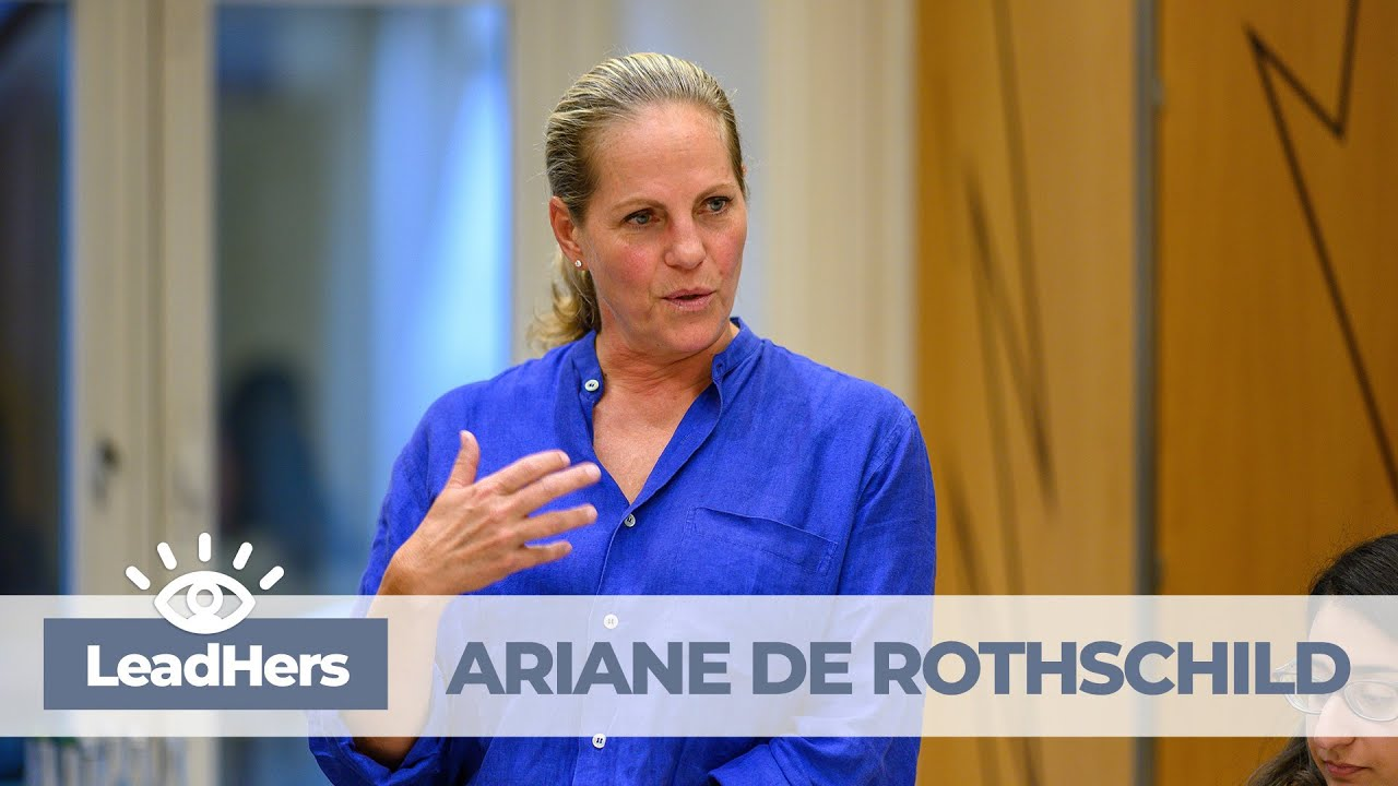Leadhers In Conversation With Ariane De Rothschild Youtube