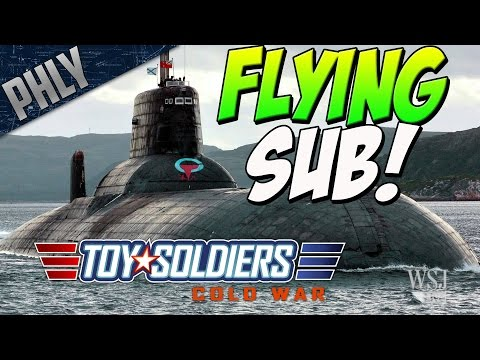 SECRET SOVIET WEAPONS - FLYING SUBS (Toy Soldiers: Cold War #4)