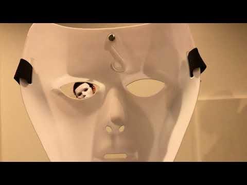 【PIXUNICK】マスクから見える白い運営がホラー【シネマグラフ】