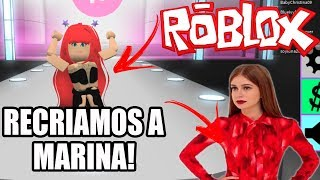 Roblox - Fashion Frenzy - RECRIAMOS A MARINA RUY BARBOSA!
