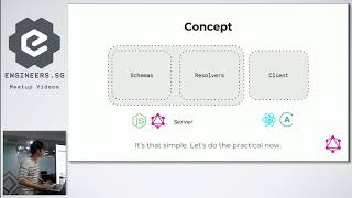ReactJS + GraphQL -  ReactJS Singapore (1st Meetup for 2018)