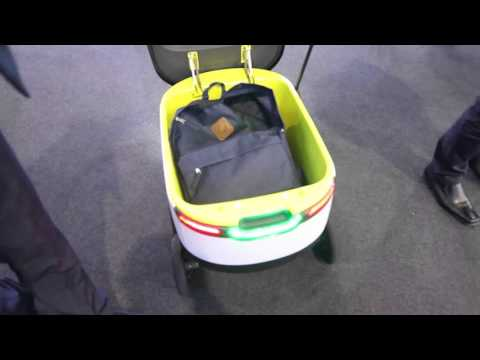 Starship Autonomous Delivery Robot at MWC 16