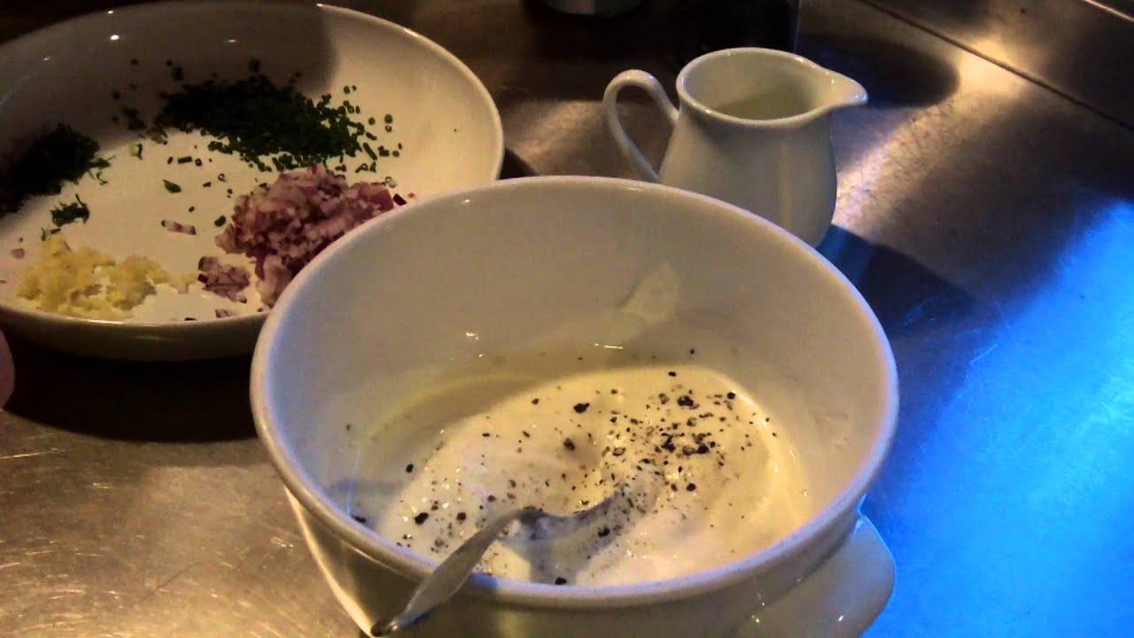 Joghurtdressing Rezept Salatsoße Der Bio Koch 299