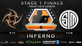 NiP vs TSM (GRAND FINAL) - Map 1 - Inferno (FACEIT 2015 League Stage 1 Finals)(Play on FACEIT for free: http://www.faceit.com FACEIT on Twitter: http://www.twitter.com/faceit FACEIT on Facebook: https://www.facebook.com/FaceitCommunity ..., 2015-05-05T02:13:03.000Z)