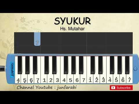 Not Pianika Syukur - Tutorial Belajar Pianika