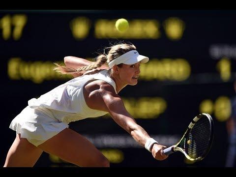 2014 Day 10 Highlights, Eugenie Bouchard vs Simona Halep, Semi-Final