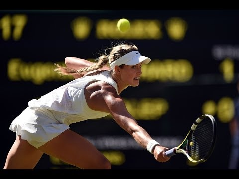 2014 Day 10 Highlights, Eugenie Bouchard vs Simona Halep, Semi-Final