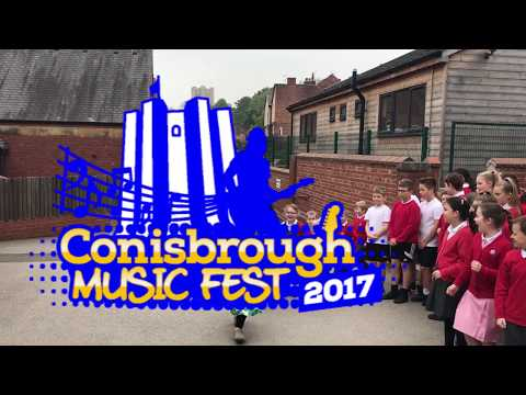 Conisbrough Music Fest does Amarillo for Yorkshire Air Ambulance