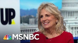 Jill Biden: Trump Is Afraid To Run Against My Husband   Up With David Gura   MSNBC