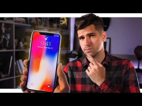 Что не так с новым iPhone X?