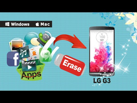How to Erase & Clear Up All Data from Your LG G4, G3, G2 on Windows Permanently?