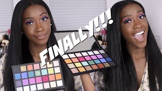 Sephora PRO Editorial Eyeshadow Palette | Demo, Swatches + Review