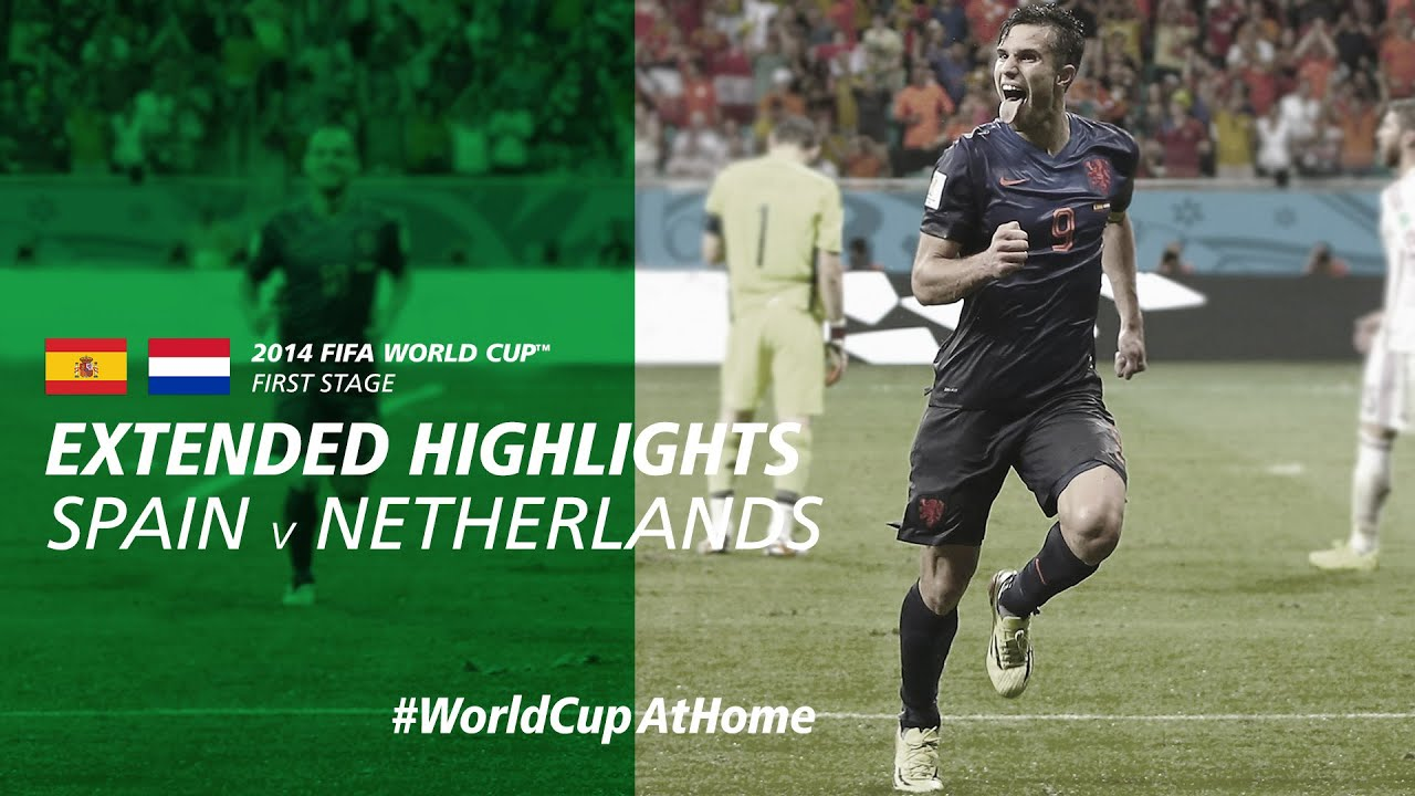 Download Spain 1-5 Netherlands   Extended Highlights   2014 FIFA World Cup