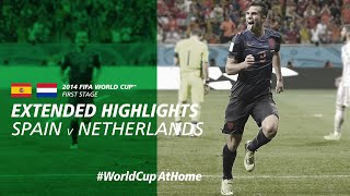 Spain 1-5 Netherlands | Extended Highlights | 2014 FIFA World Cup
