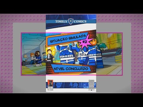 Lego Marvel Super Heroes 2 - Missão Bônus 02 - Situação Simulada – Gameplay  – PT BR e737744074