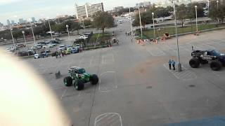 Random video grave digger Houston tx jan 17, 2015