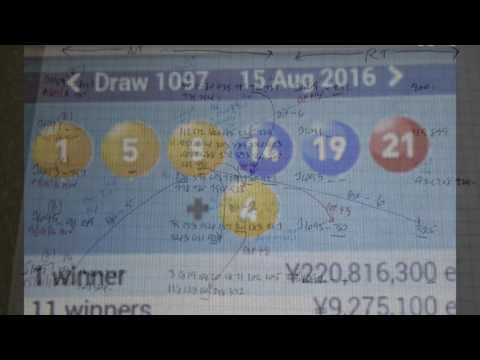 REVIEW KEY COMBINATIONS TO WIN JAPAN LOTTO ON MONDAY 15.08.16 J1097
