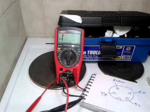 How to wire up a cb mike - YouTube  Pin Cb Mic Wiring Diagram K on