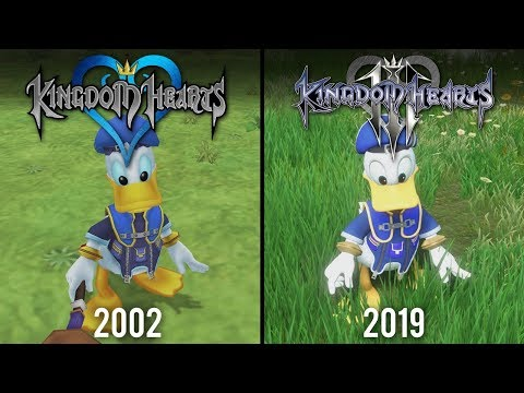 Kingdom Hearts 3 vs Kingdom Hearts | Direct Comparison