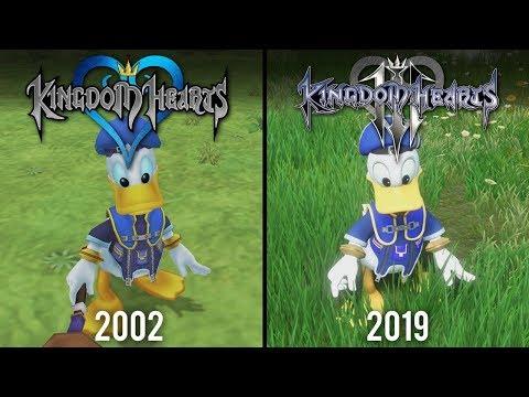 Kingdom Hearts 3 Vs Kingdom Hearts | Direct Comparison