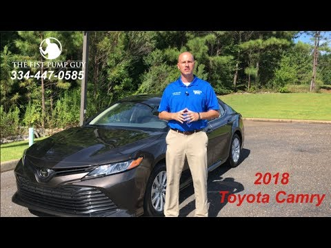 2018 Toyota Camry Le In Brownstone With Gary Pollard The Fist Pump