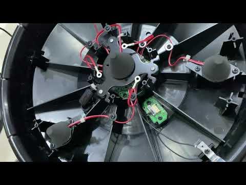 Roland pd-140ds   nhiều công nghệ cảm biến đa điểm biểu cảm  Tháo mặt trống xem bên trog có nhữg gì?