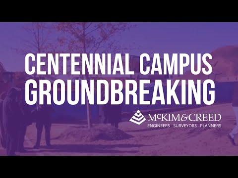 Centennial Campus Ground Breaking