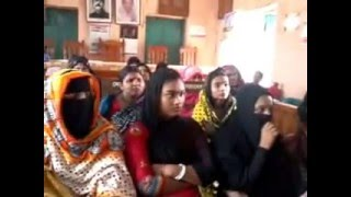 Training Session for Poor Pregnant Women