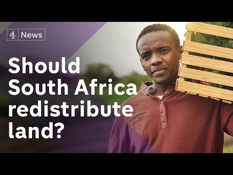 South Africa may take land from white farmers - So What
