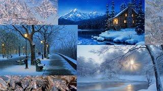 Время года ЗИМА | Зимние пейзажи в картинах художников / Season Winter ~ Richard Wagner / HD