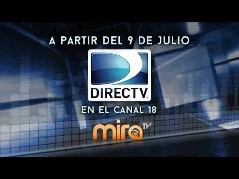 Mira TV ahora disponible en el canal 18 de DirecTV