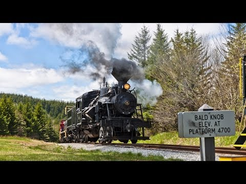 HD: The 2014 Cass Railfan Weekend - Part 1 - Friday, The Ascent to Bald Knob!