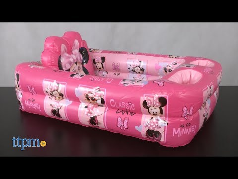 Disney Baby Mickey & Minnie Mouse Inflatable Safety Bathtub from Ginsey