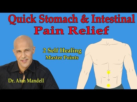 Rapid Relief from Stomach, Bloating, Cramping Pain (Acupressure Master Points) - Dr Mandell