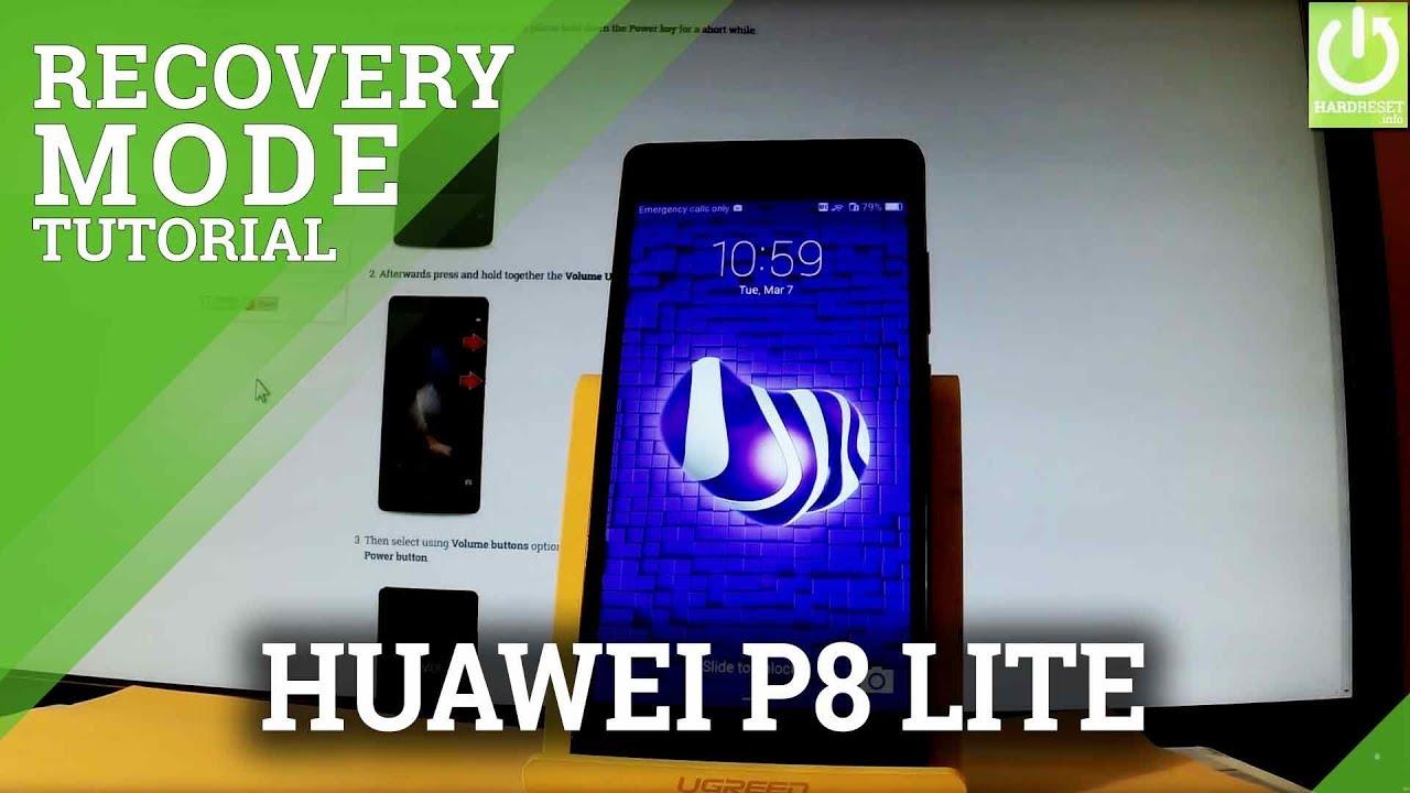 Recovery Mode HUAWEI P8 Lite - HardReset info