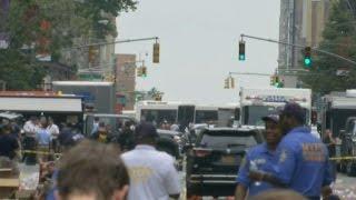 "NYC ""intentional"" bombing leaves dozems injured"
