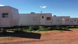 Bakken Abandoned Oilfield Housing Prairie Fields