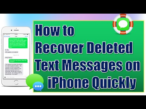 How do i retrieve deleted messages on my iphone 6s